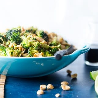Asian Healthy Broccoli Salad