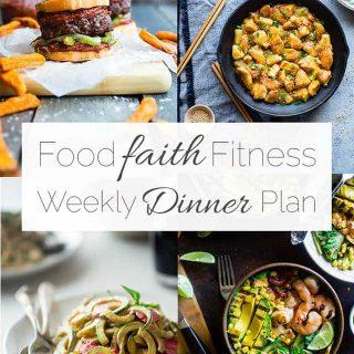 Food Faith Fitness Weekly Dinner Plan –  Week 5