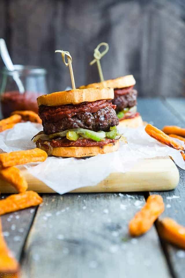Cajun Burgers with Sweet Potato Buns