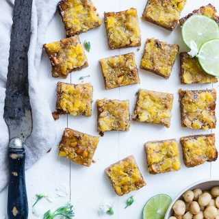 Tropical Paleo Magic Cookie Bars