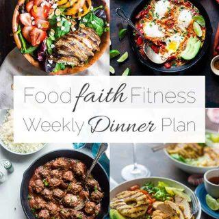 Food Faith Fitness Weekly Dinner Plan – Week 4