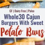 Sweet potato buns collage photo