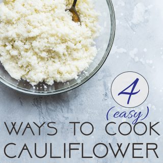 How to Cook Cauliflower Rice