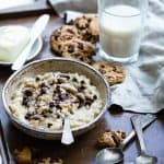 Cookie Dough Protein Oatmeal