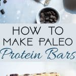 How to Make Paleo Protein Bars - Ever wondered how to make paleo protein bars? Learn how easy it is to make your favorite snack healthy, gluten free and grain free!  | Foodfaithfitness.com | @FoodFaithFit