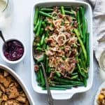 Easy Sautéed Fresh Green Beans Recipe with Crispy Prosciutto