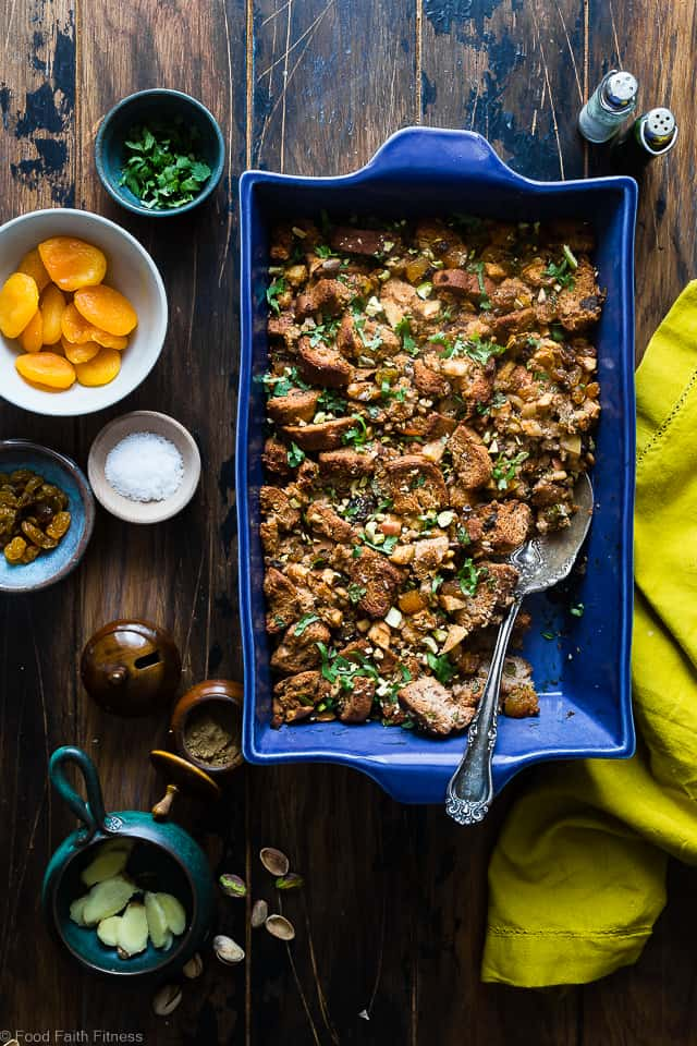 Moroccan Simple Gluten Free Stuffing