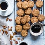Brown Sugar Chewy Butter Pecan Cookies