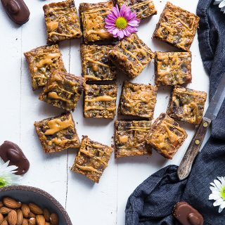 Gluten Free Magic Cookie Bars with Coconut
