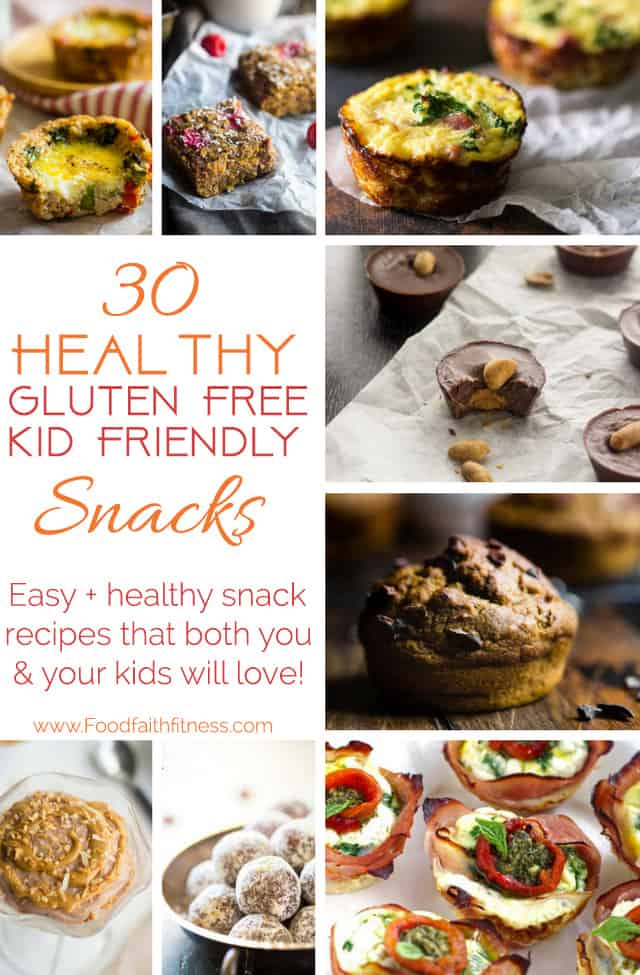 30 Healthy Gluten Free Kid And Adult Friendly Snacks