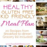 Kid Friendly Meals Plan