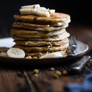 Paleo Banana Pancakes with Coconut Flour