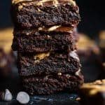 Best Paleo Coconut Flour Brownies with Almond Butter