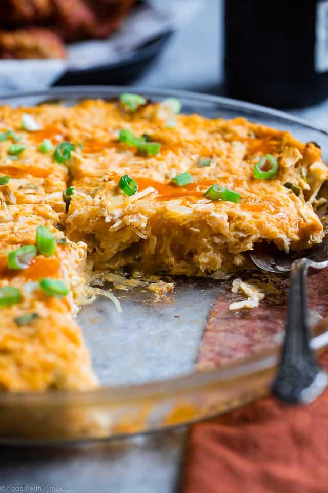 Paleo Buffalo Chicken Casserole With Spaghetti Squash