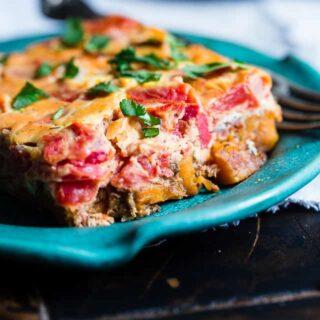 Moroccan Healthy Gluten Free Paleo Breakfast Casserole