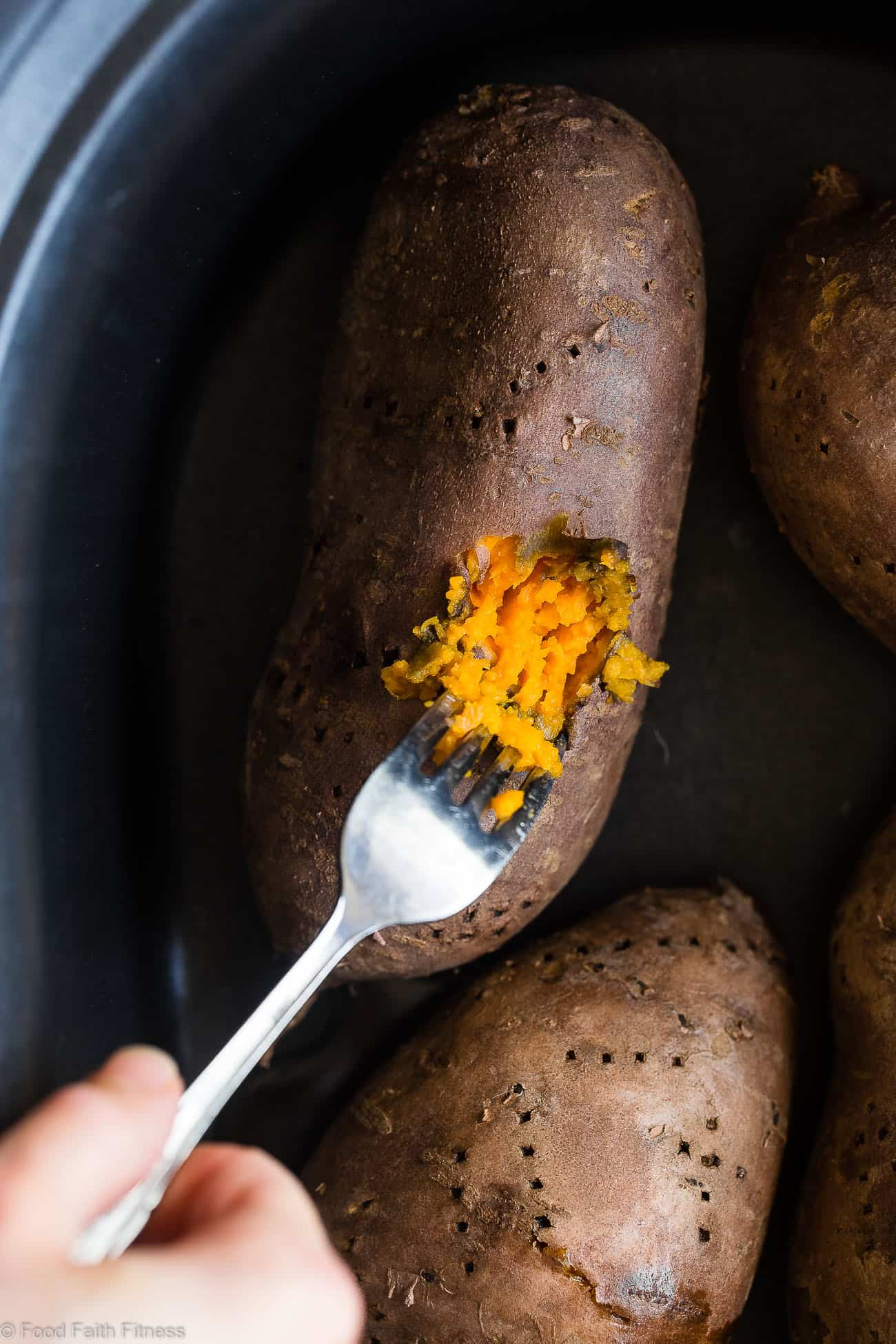 How do you cook sweet potatoes in a crock pot