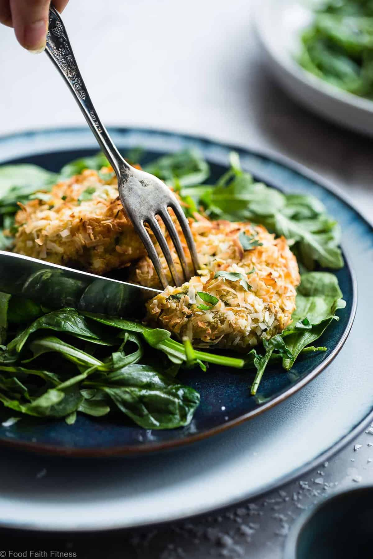 Low Carb Whole30 Paleo Salmon Cakes | Food Faith Fitness