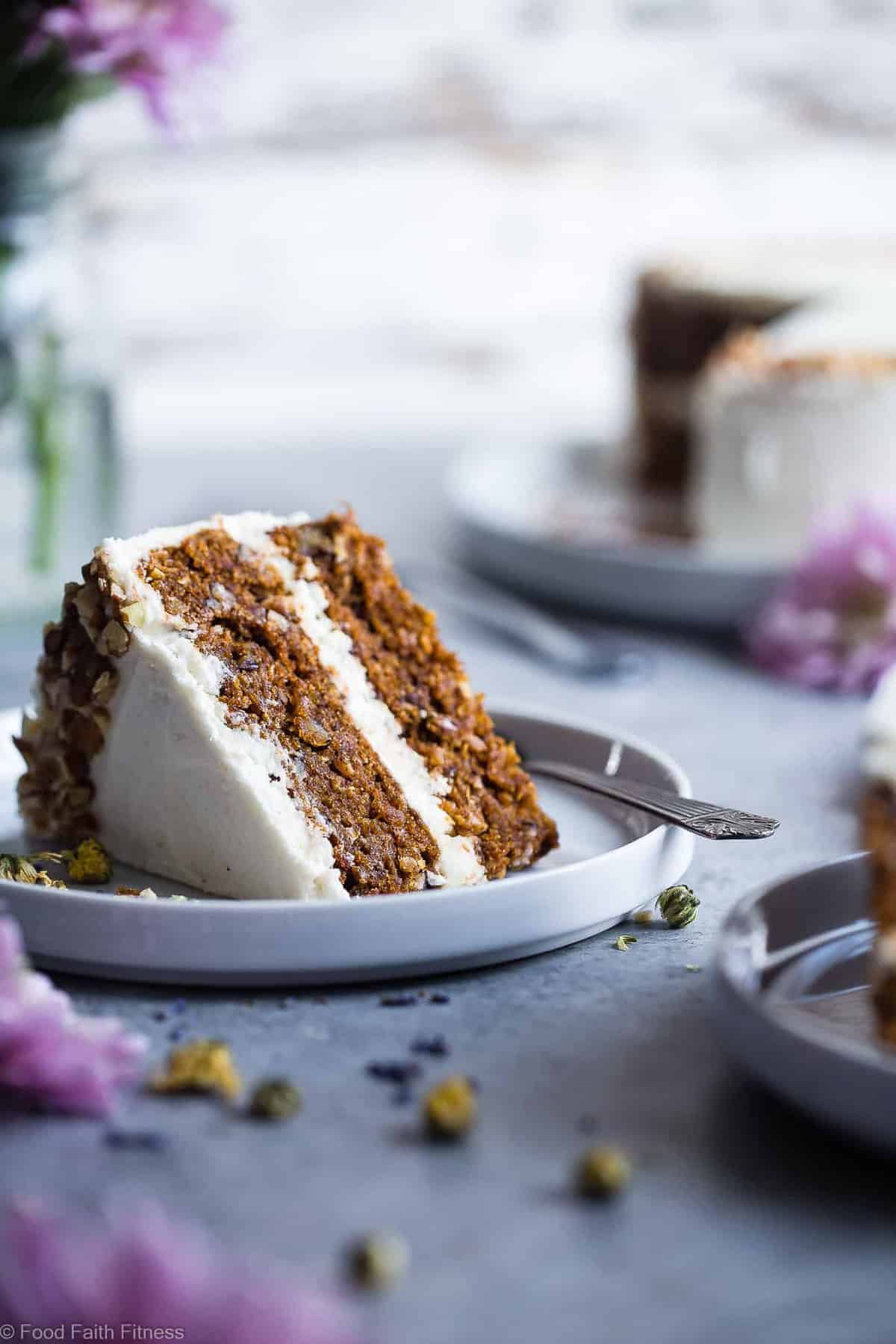 The BEST Gluten Free Vegan Carrot Cake