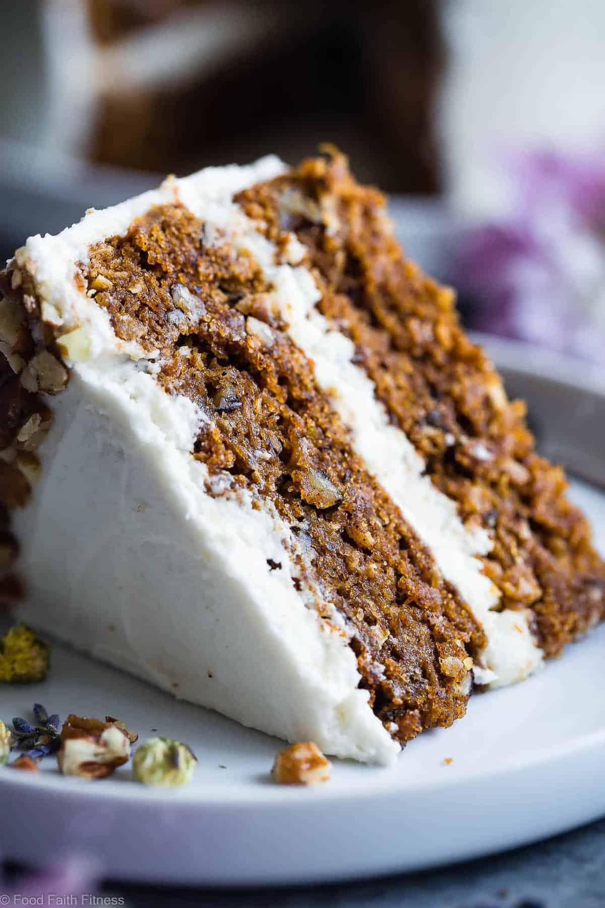 Vegan Gluten Free Dairy Free Carrot Cake Food Faith Fitness