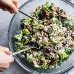 Mediterranean Low Carb Broccoli Salad
