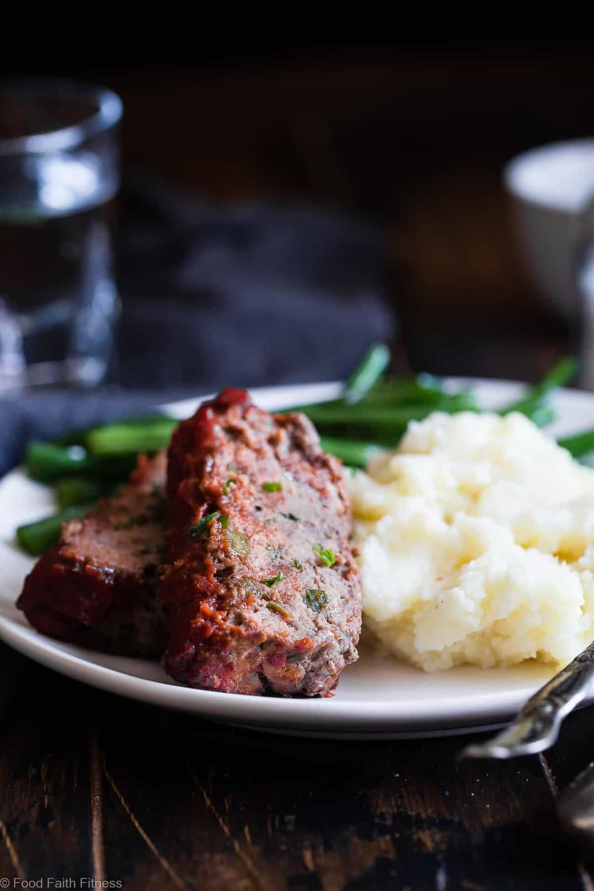 Easy Low Carb Paleo Meatloaf Food Faith Fitness