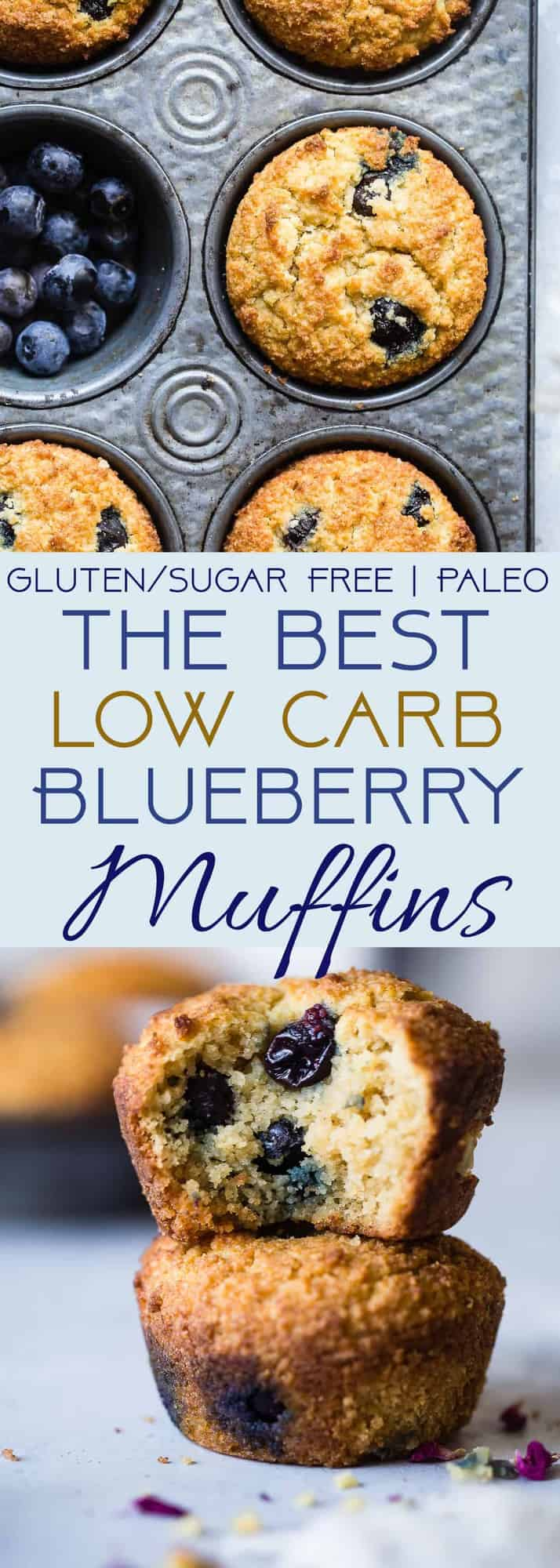 Sugar Free Dress: Low Carb Sugar Free Keto Blueberry Muffins With Almond Flour