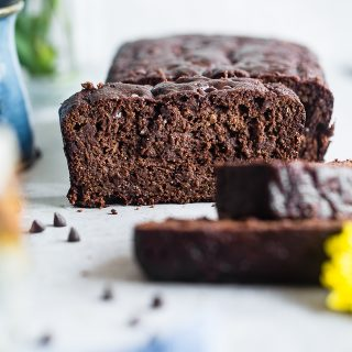 Healthy Chocolate Paleo Zucchini Bread