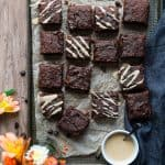 Paleo Sweet Potato Brownies with Tahini