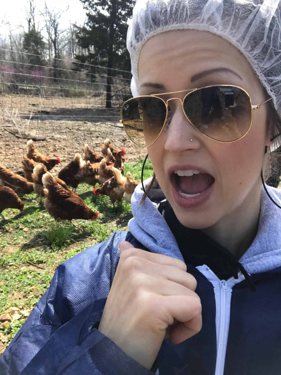 Vital Farms Tour Recap - Sharing how I saw first hand that Vital Farms is the real deal! They are raising happy, healthy hens and treating their employees with respect!   #Foodfaithfitness  
