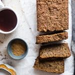 Five Spice Eggless Vegan Zucchini Bread