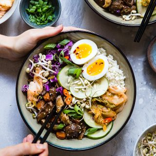 Slow Cooker Whole30 Paleo Korean Beef Stew