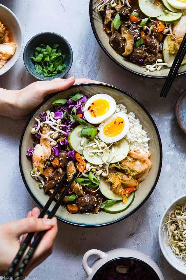 Slow Cooker Whole30 Paleo Korean Beef Stew Food Faith