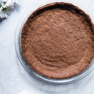 Gluten Free Graham Cracker Crust Recipe (Sugar free!)