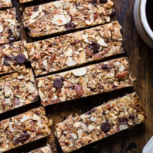 sugar free keto low carb granola bars recipe food faith fitness