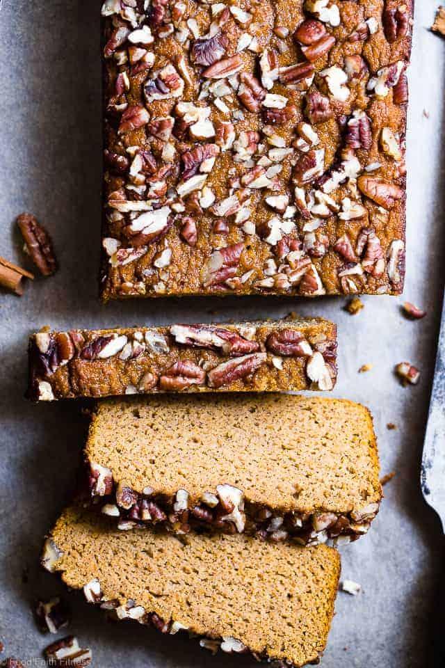 Gluten Free Paleo Pumpkin Bread with Coconut Flour | Food ...