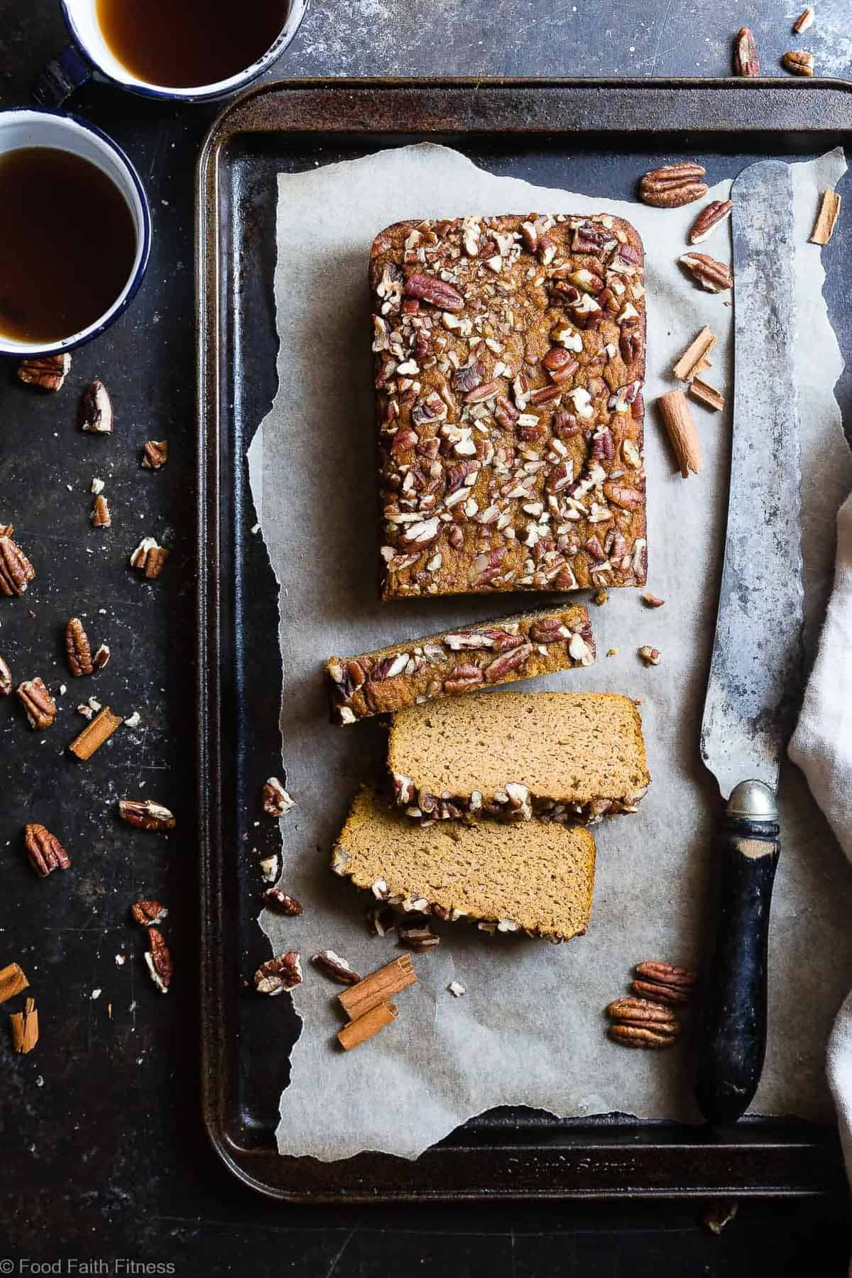 Gluten Free Paleo Pumpkin Bread with Coconut Flour | Food