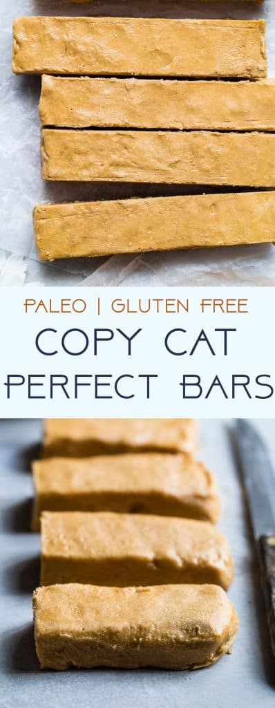 Homemade Perfect Bars -This homemade Perfect Bar Recipe tastes exactly like the store bought version, and is only 5 ingredients and so easy to make! Gluten free and healthy with a paleo option!   #Foodfaithfitness   #Glutenfree #Paleo #Healthy #Dairyfree #Snacks