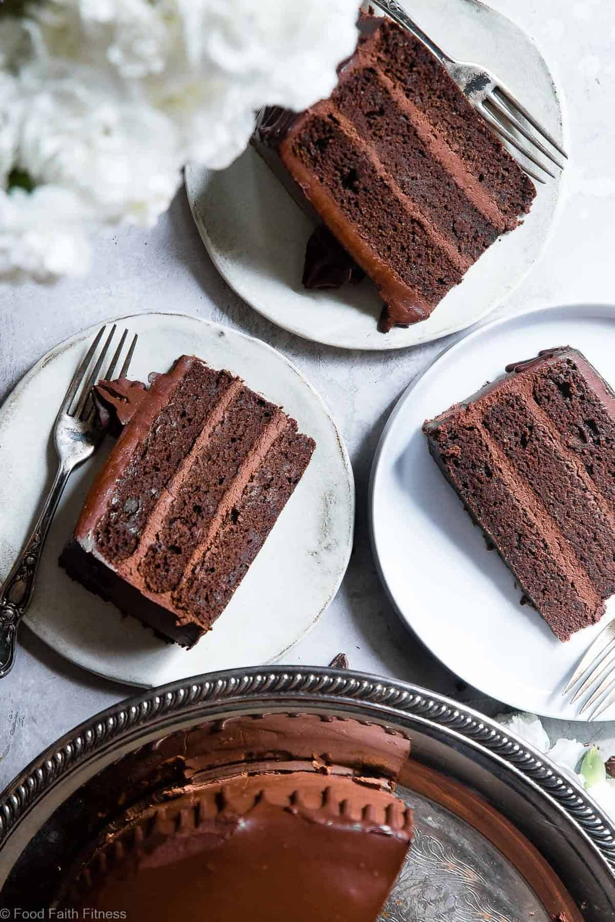 Paleo Chocolate Avocado Cake With Coconut Flour Food Faith Fitness