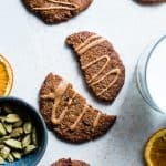 Orange Cardamom Paleo Almond Butter Cookies