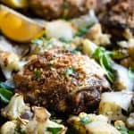 Sheet Pan Paleo Za'atar Chicken Thighs