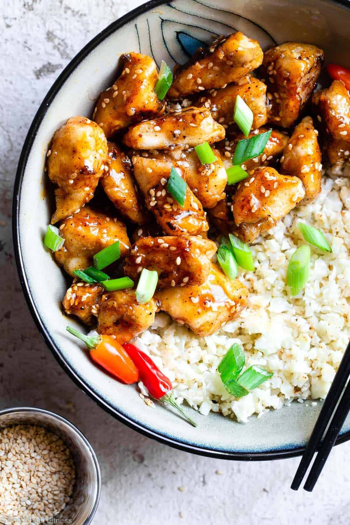Paleo Easy Gluten Free Healthy Sesame Chicken  Food Faith Fitness