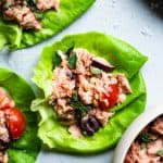 Paleo Mediterranean Tuna Salad with Olives