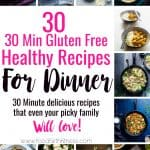 30 Healthy 30 Minute Meals Roundup