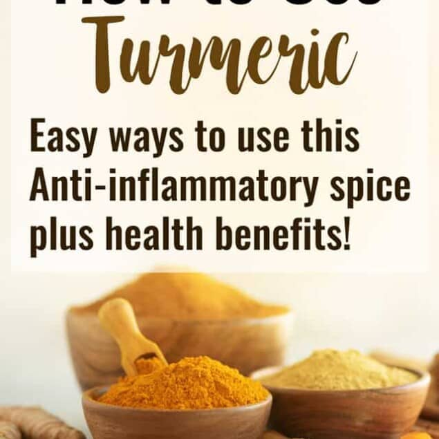 How to Use Turmeric + Health Benefits - Ever wondered how to use turmeric? I'm sharing 5 easy ways, different recipes as well as the health benefits of turmeric! It's a powerful, tasty spice! | #Foodfaithfitness | #health #Turmeric #Healthtips #glutenfree #anti-inflammatory