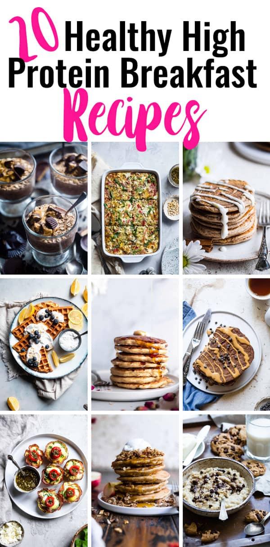 20 High Protein Breakfast Recipes Food Faith Fitness