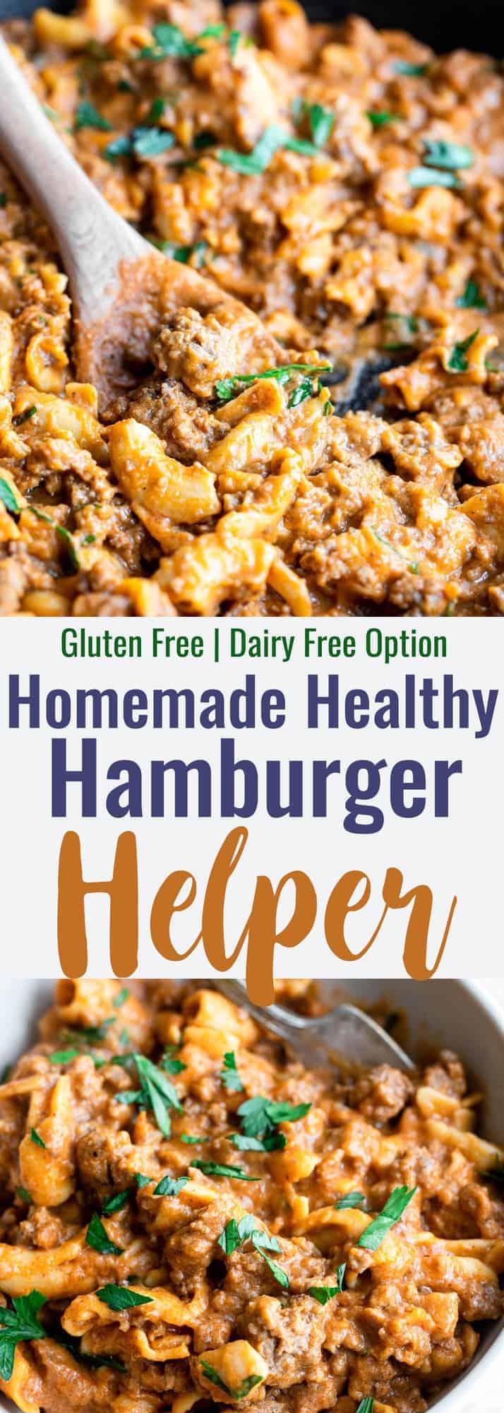 Homemade Healthy Hamburger Helper Food Faith Fitness
