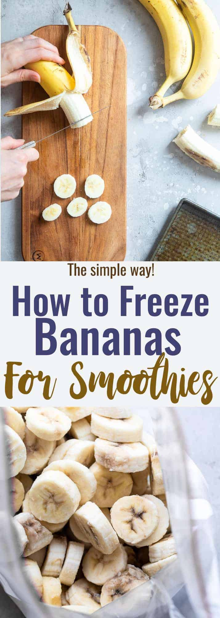 How to Freeze Bananas Picture