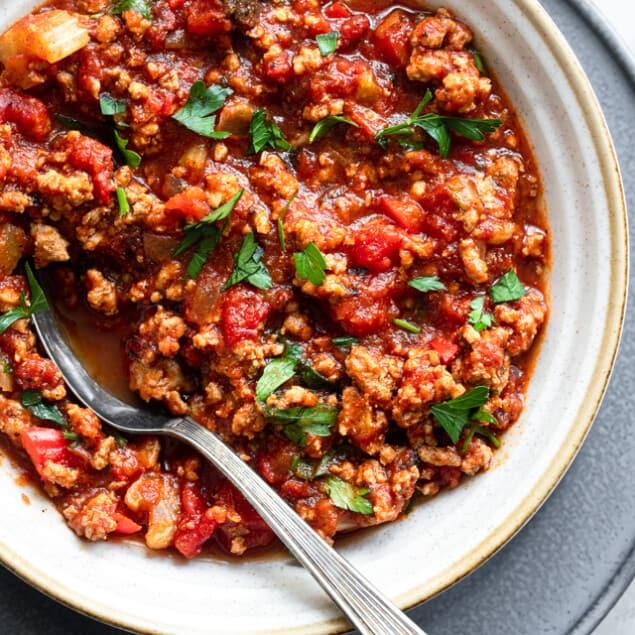 No Bean Low Carb Keto Turkey Chili Food Faith Fitness