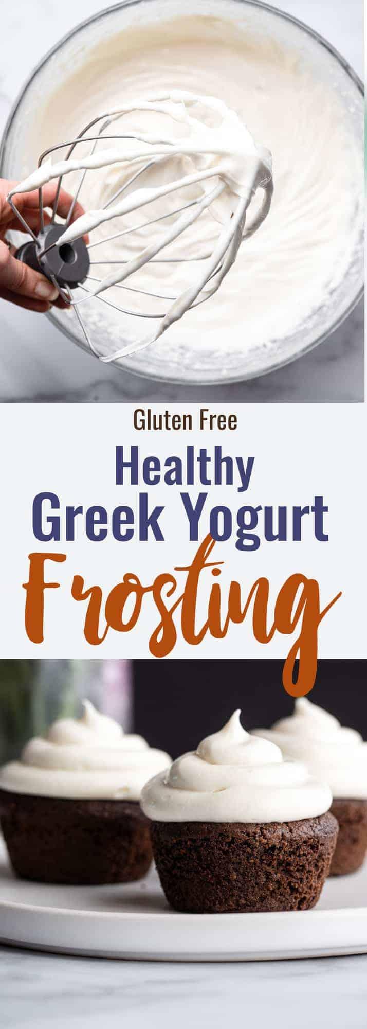 Greek yogurt cream cheese frosting
