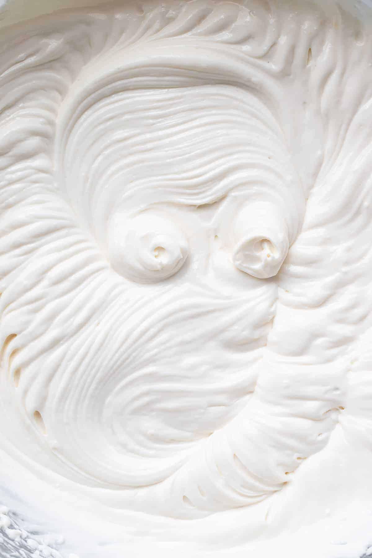 Greek yogurt frosting